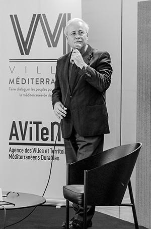 """Jean Louis Levet, conférence sur """"les perspectives de la Coopération Franco-Algérienne"""", Avitem"""