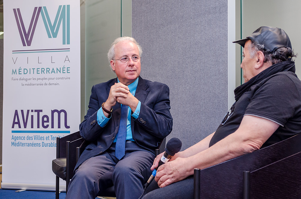 """Jean Louis Levet, conférence sur """"les perspectives de la Coopération Franco-Algérienne"""""""