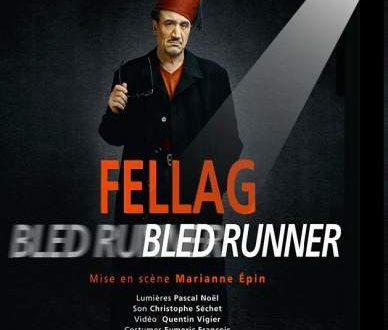 """Fellag dans son spectacle """"Bled Runner"""""""