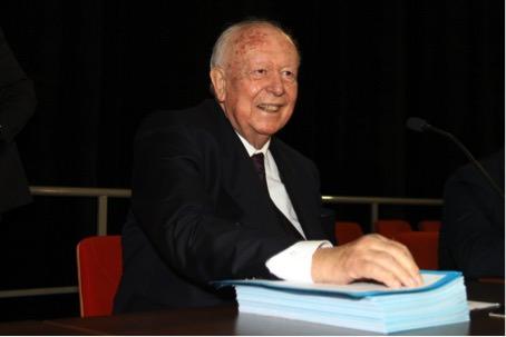 Jean-Claude Gaudin au 3ème conseil métropolitain