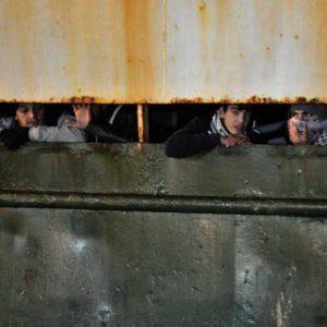 Migrants dans le Cargo Ezadeen, méditerranée