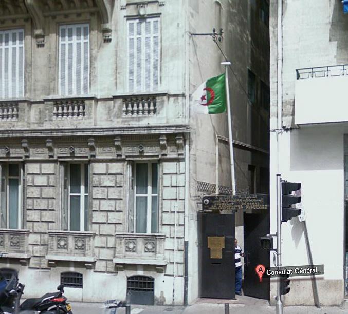 Nouveau Consulat d'Algérie à Marseille