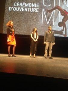 NABIL AYAOUCH ET SON FILM «RAZZIA» ILLUMINE LA CEREMONIE D'OUVERTURE DE LA 39è EDITION DU FESTIVAL DU CINEMA DE MONTPELLIER.