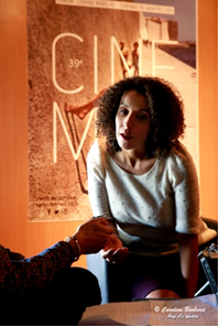 SOFIA DJAMA REALISATRICE DU FILM » LES BIENHEUREUX» PRIME A CINEMED MONTPELLIER : » LE CINEMA EST PARTIE INTEGRANTE DE LA CULTURE ET LA CULTURE C'EST AUSSI DE LA RESISTANCE «.