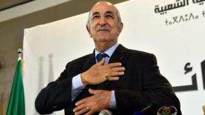 élection présidentielle algérienne